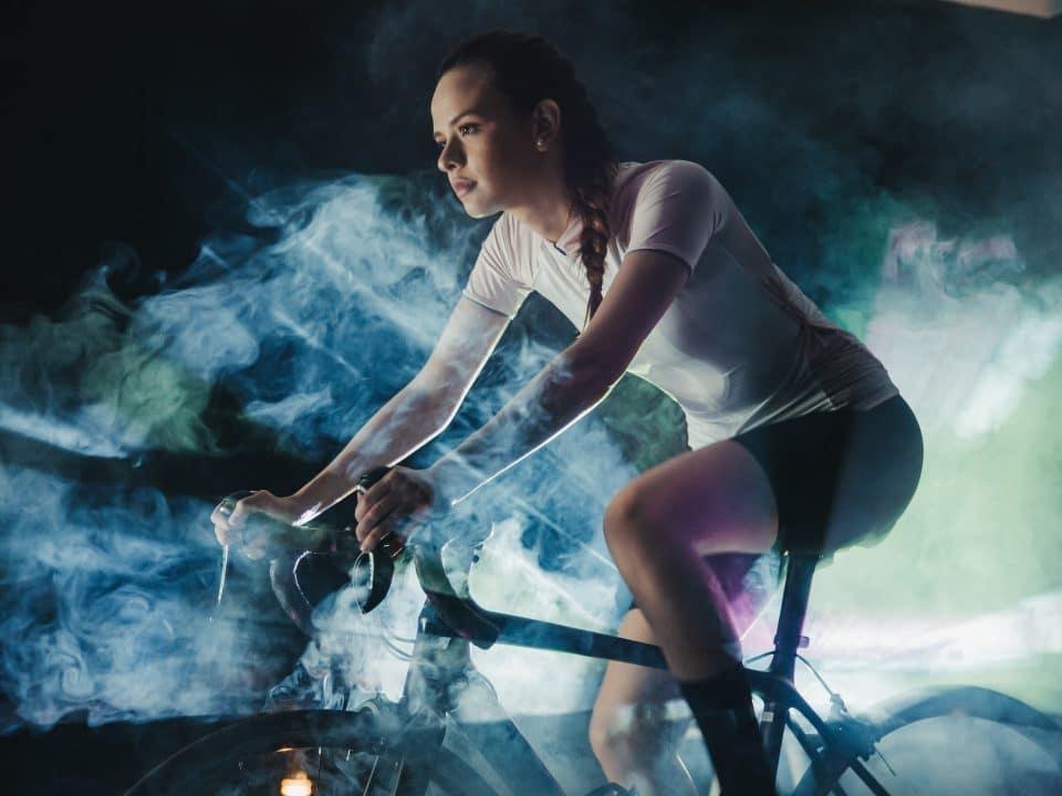 test 20 minutowy na rowerze